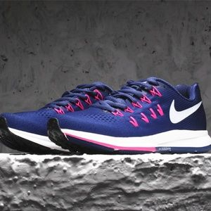 Nike Women's Air Zoom Pegasus 33 dark purple pink
